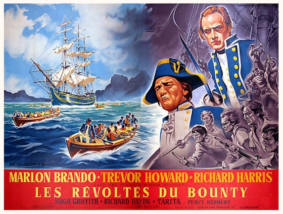 les révoltés du bounty 1962