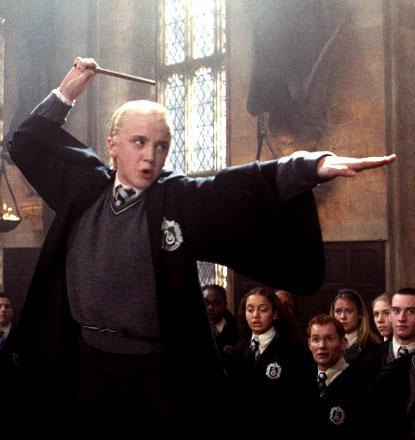 Drago Malfoy, roi du Kung fu
